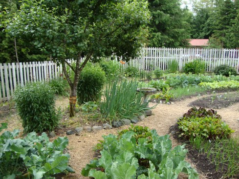 One of the wonderful gardens you'll be visiting on the Edible Garden Tour this year.